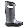 Bogs Rainboot Metallic Plush Acier 72507-032